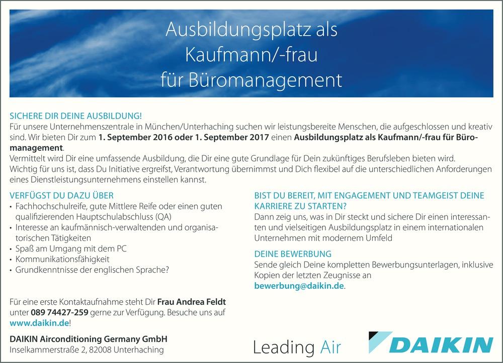 Ausbildung Büromanagement Berlin